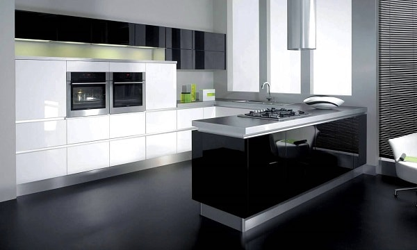 Modular Kitchen U Shaped