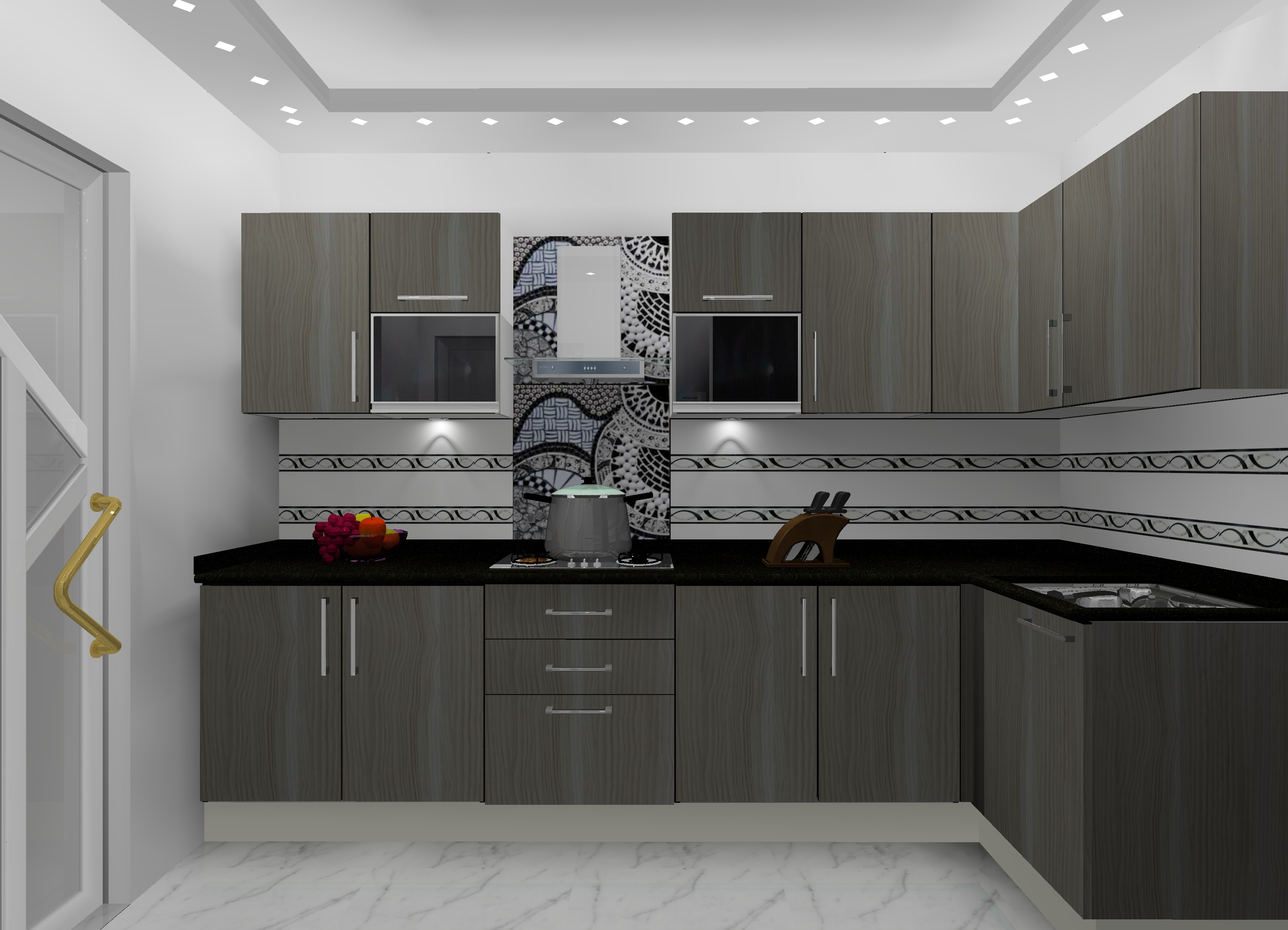 L Shaped Modular Kitchen Designs In Delhi Ncr Kitchen Manufacturer