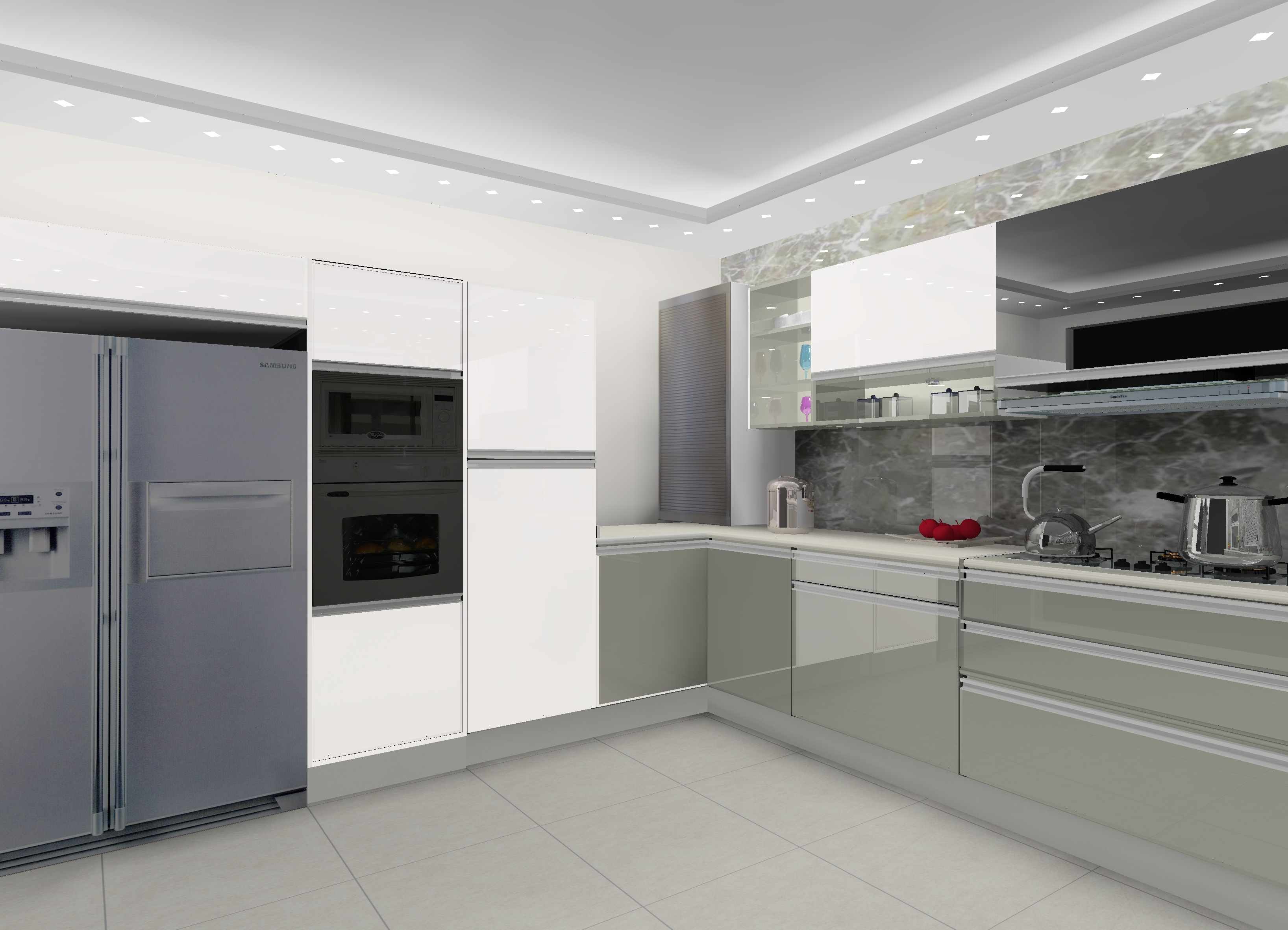 L Shaped Modular Kitchen Designs In Delhi NCR