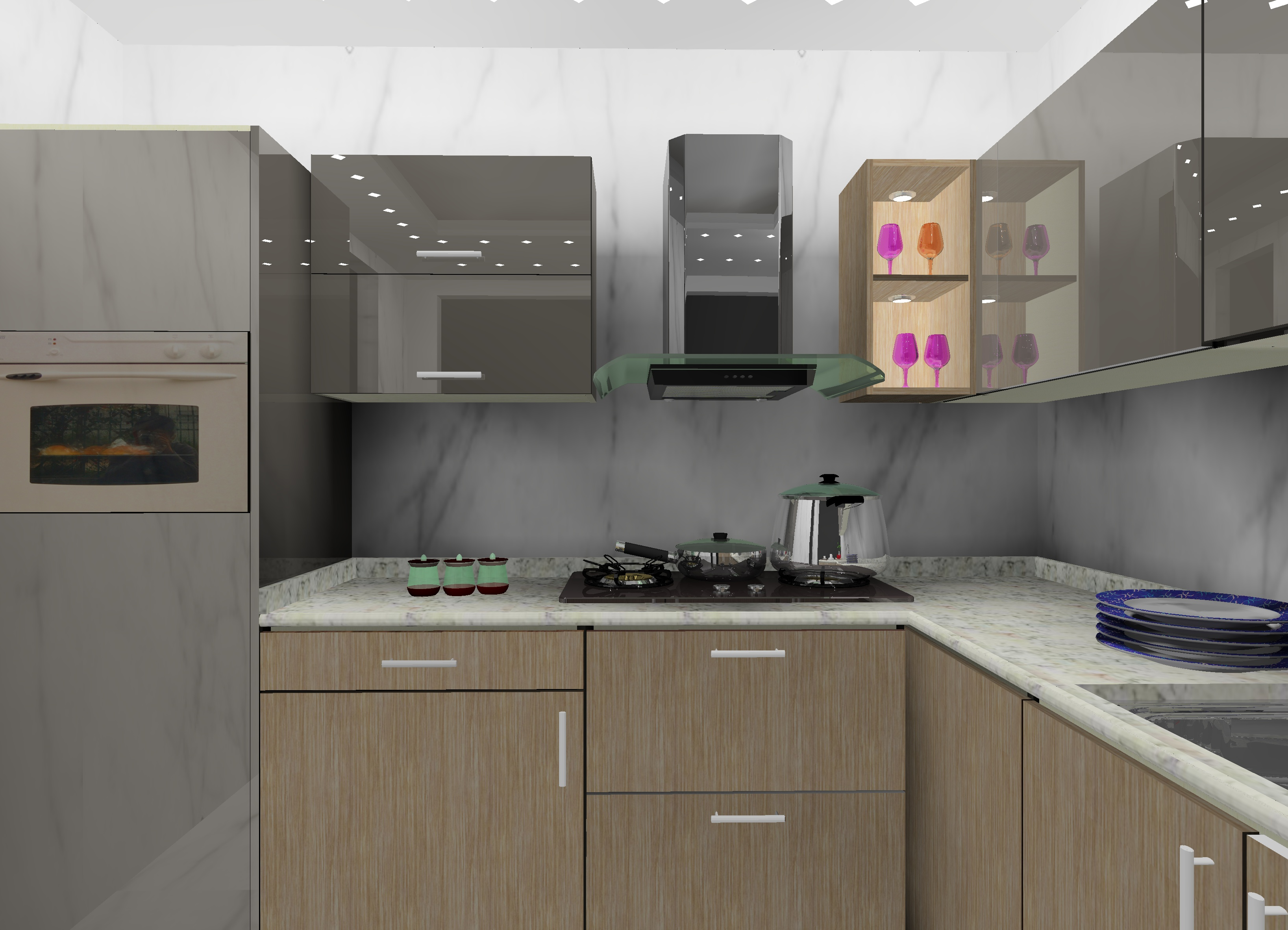 L Shaped Modular Kitchen Designs In Delhi Ncr Kitchen