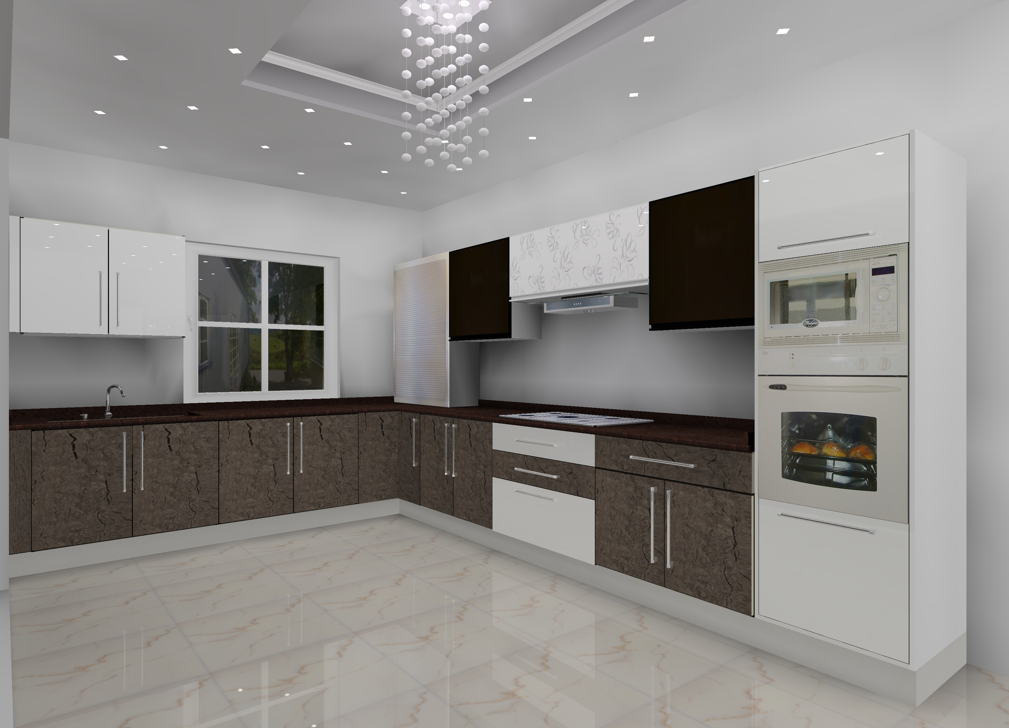 L shaped Modular Kitchen Designs in Delhi NCR | Kitchen ...