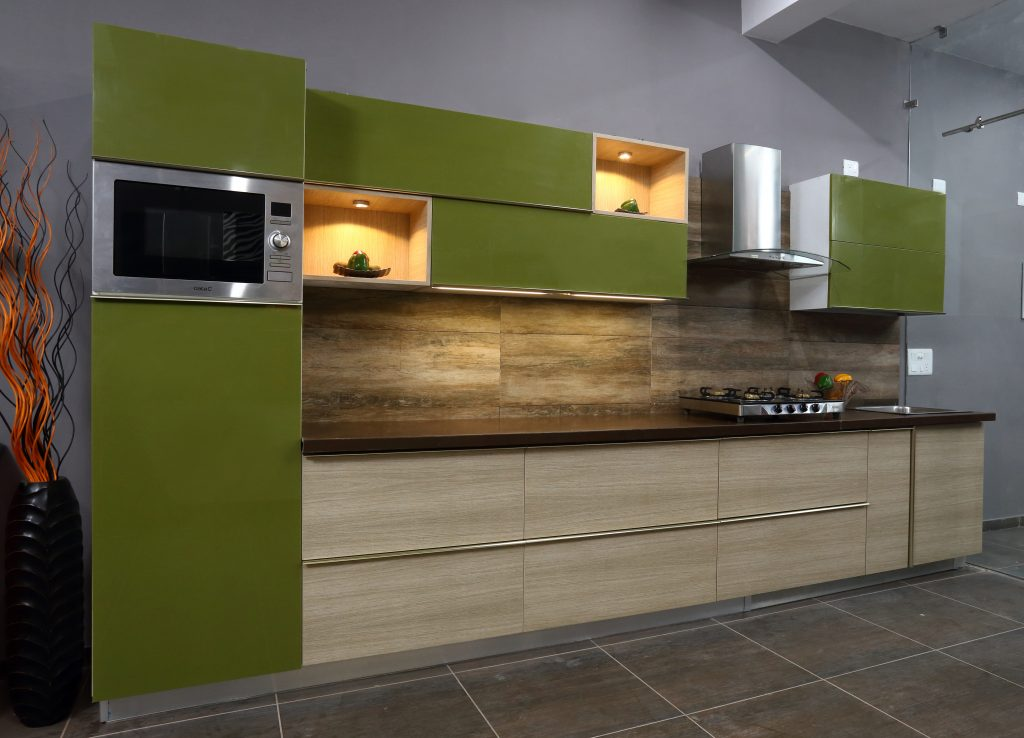 Different Kinds Of Finishes For Kitchen Shutters Modular