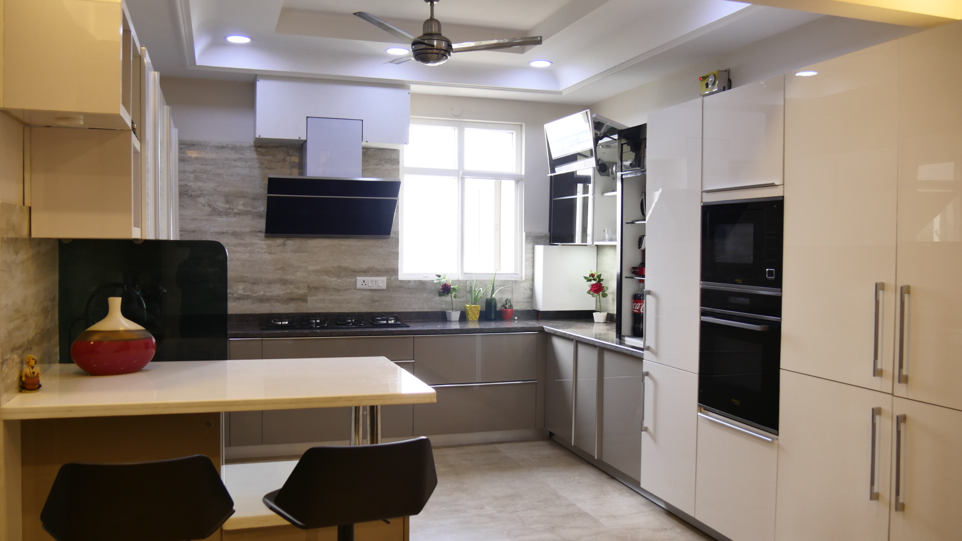 ideas modular kitchen_acrylic kitchen
